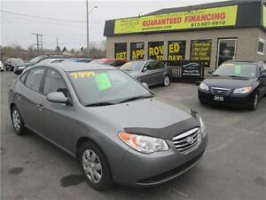 2010 Hyundai Elantra LOW LOW KM!!! -GUARANTEED FINANCING- -WOW-