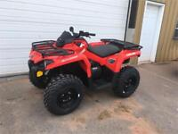 2018 Can-Am Outlander™ 570 Charlottetown Prince Edward Island Preview