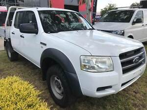 2008 Ford Ranger XL 4X4 D/Cab Maidstone Maribyrnong Area Preview