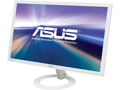 "شاشة ليد جديد ASUS VX238H-W White 23"" 1ms (GTG) HDMI Widescreen LED Backlight LCD Monitor"