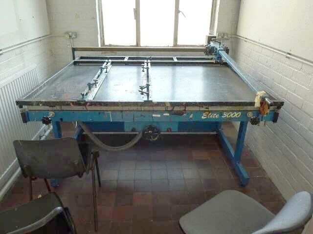 Screen printing press. Very good condition.