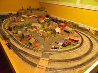 wanted Train set layout