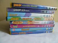 8 scooby-doo dvd 5.00 pounds