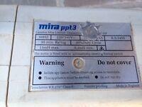 Mira power shower pump
