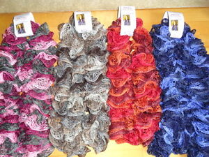 Frilly Ruffle scarfs Cambridge Kitchener Area image 2