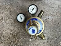 Mig welding Gas Bottle Regulator