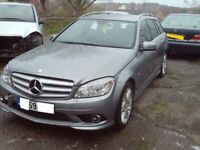 MERCEDES C CLASS W204 FRONT BUMPER SPORT 250CDI AMG £250 COMPLETE BUMPER BREAKING CAR for sale  Newcastle-under-Lyme, Staffordshire