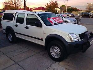 2004 Holden Rodeo RA LT Crew Cab White 5 Speed Manual Utility Park Holme Marion Area Preview