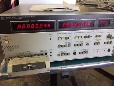 Hp Agilent 4275a Multi-frequency Lcr Meter 10 Khz-10 Mhz Tested Opt 101 W16047a