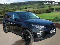2015 LAND ROVER DISCOVERY SPORT 2.0 TD4 180 HSE Black 5dr Auto PAN ROOF 7 Seater