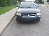 2005 Volkswagen Passat,CUIR, 2L, TURBO DIESEL,PRIX NEGOCIABLE