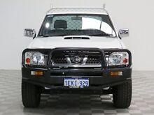 2014 Nissan Navara D22 Series 5 ST-R (4x4) White 5 Speed Manual Dual Cab Pick-up Jandakot Cockburn Area Preview