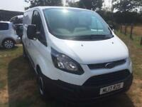 2017 Ford Transit Custom 2.0 TDCi 105ps Low Roof Van 4 door Panel Van