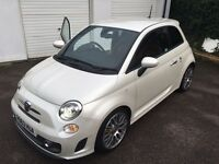 Limited edition Pearl white fiat abarth 595