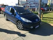 2008 Peugeot 207 A7 XT Blue Manual Wagon Wangara Wanneroo Area Preview
