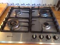 NEFF gas hob - used, great condition, must go 19th June or that week