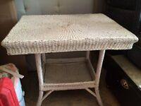 Antique Furniture - Wicked Table, Hall Table /w mirror