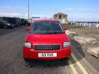 05 Audi a2 1.4 tdi 61200 miles £1699