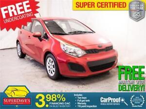 2012 Kia Rio LX *Warranty*