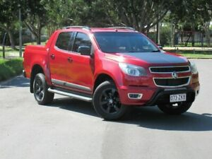2015 Holden Colorado RG MY16 Z71 Crew Cab Red 6 Speed Sports Automatic Utility Slacks Creek Logan Area Preview