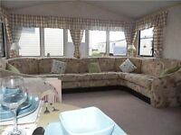 BARGAIN STATIC CARAVAN FOR SALE NORTHEAST COAST FANTASTIC LOCATION FINANCE AVAILABLE NEW UPHOSTERY