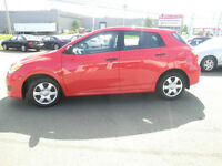 2010 Toyota Matrix 43504 kms1 owner $99. biwkly 4.84% oac SALE