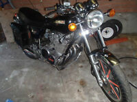 vintage yamaha midnight special 750cc nice condition motorcycle