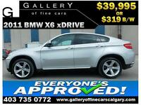 2011 BMW X6 xDrive35i $309 bi-weekly APPLY TODAY DRIVE TODAY