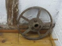 Lovely Iron Wheel - chicken hut, cart