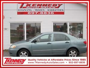 2005 TOYOTA COROLLA  CE ONLY $1,988.00 INSPECTED & SERVICED