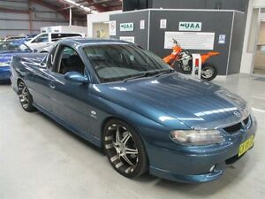 2001 Holden Ute VU SS Blue 6 Speed Manual Utility Maryville Newcastle Area Preview
