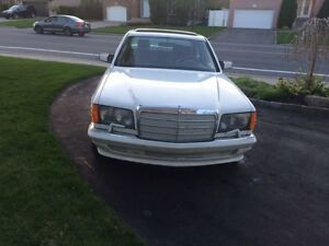 Mercedes benz 500sel