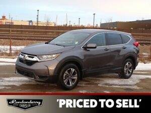 2018 Honda Cr-V AWD LX Accident Free,  Heated Seats,  Back-up Ca
