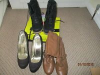 8 pairs ladies shoes