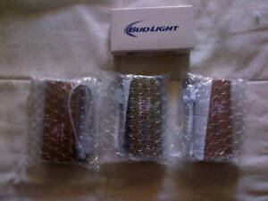 4 Coors Bud Light Cell Phone Chargers