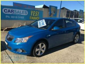 2013 Holden Cruze JH MY14 Equipe Blue 6 Speed Automatic Hatchback Kogarah Rockdale Area Preview