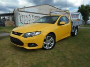 2012 Ford Falcon FG MkII XR6 Super Cab EcoLPi Yellow 6 Speed Sports Automatic Cab Chassis Moorabbin Kingston Area Preview