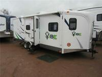NEW V-CROSS CAMPERS BY FOREST RIVER