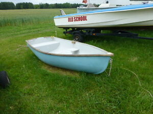 8' Newfoundland Style Rowing Dingy / Sailboat Tender