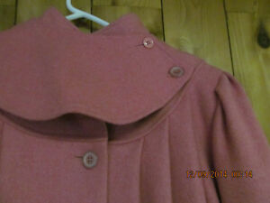 A STEAL AT $25.GIRLS OLD FASHIONED DRESSY WOOL COATS Prince George British Columbia image 7