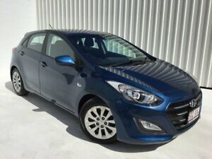 2015 Hyundai i30 GD4 Series II MY16 Active Blue 6 Speed Sports Automatic Hatchback Mundingburra Townsville City Preview