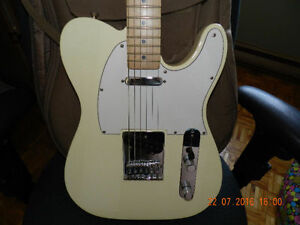 Fender Telecaster (Made in Mexico) with Pedal & Ampli
