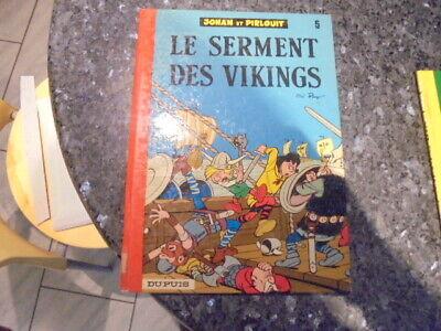 belle reedition johan et pirlouit le serment des vikings