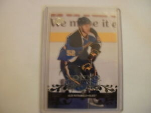 2008-09 Upper Deck hockey Alex Pietrangelo Young Gun rookie card