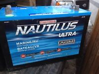 Marine/RV Nautilus Ultra group 31 AGM Deep cycle battery