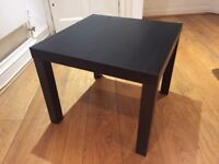 IKEA Lack Side Table - Black-Brown - As New!
