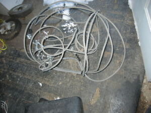 2steel  tow ropes