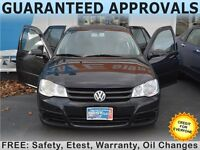 2009 Volkswagen Golf City, $33/Week OR $147/Month, GET ZERO DOWN