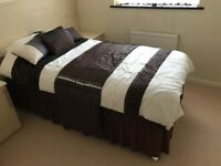 Brand new single bed with mattress