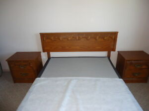 Headboard and Side Tables